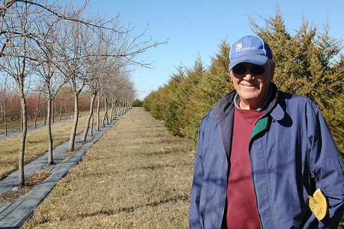 Ken Mouw created a shelterbelt 10 years ago on his Elk Point, S.D. as a way to fortify his farm against the harsh winter winds.