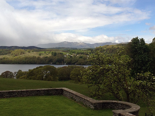 View over Windermere from Blackwell Terrace