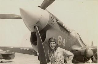 A P-40 aircraft