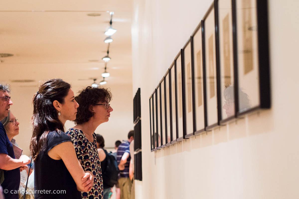 Mujer (fotógrafas vanguardistas en los 70) en el Círculo de Bellas Artes.