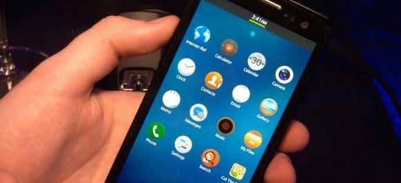 Первый Tizen-смартфон