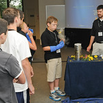 Student scientists get their hands on Army technology