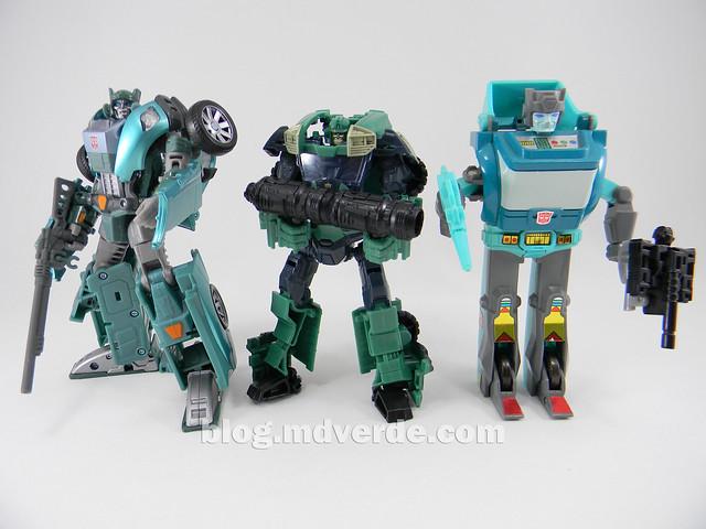 Transformers Sargeant Kup - Prime RID - modo robot vs United vs G1