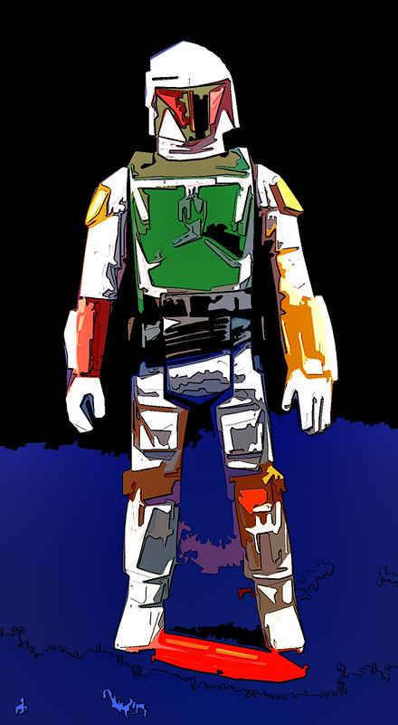psybertech's Star Wars Figures Artwork Limelight 9111315404_216b920868_c