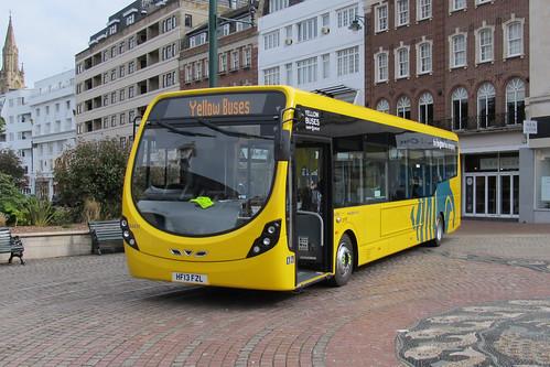 SA851 HF13FZL Yellow Buses