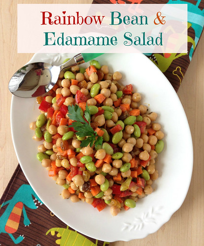 A makeover of three-bean salad