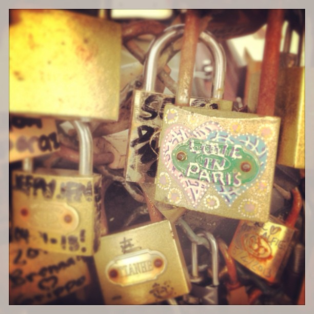 Love, Paris, locks, lock bridge, love in paris,