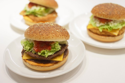 MacDonald summer salsa burgers