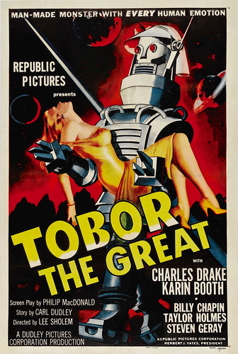 Tobor the Great (Republic, 1954). One Sheet (27