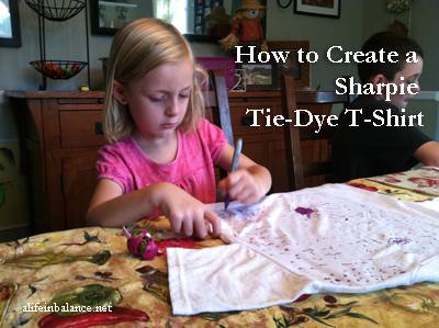 How to Tie Dye with a Sharpie