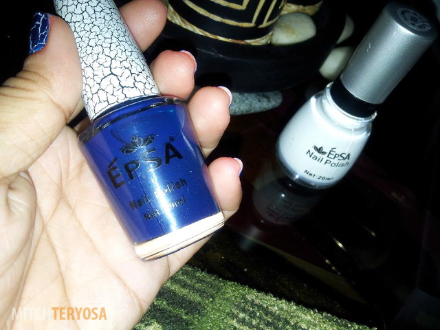 Epsa Blue Crack Polish
