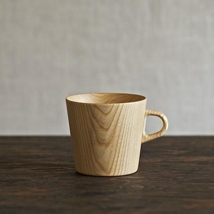 Kami wood mug