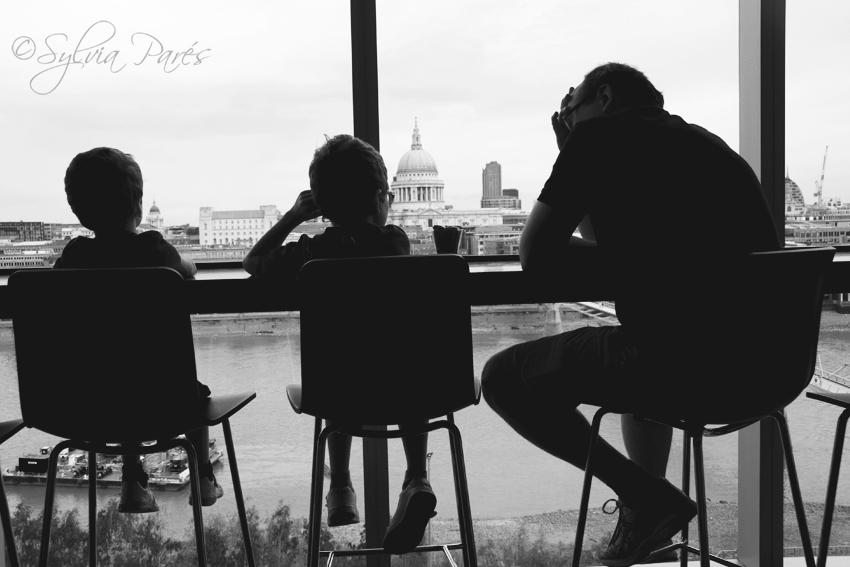 Un terraza con vistas...