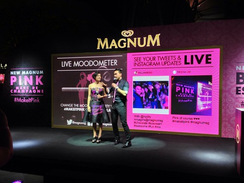 Magnum Party's Live Moodometer