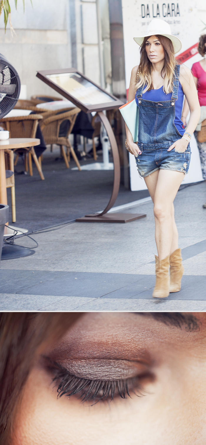 street style metropoli madrid zara jumpsuit barbara crespo outfit