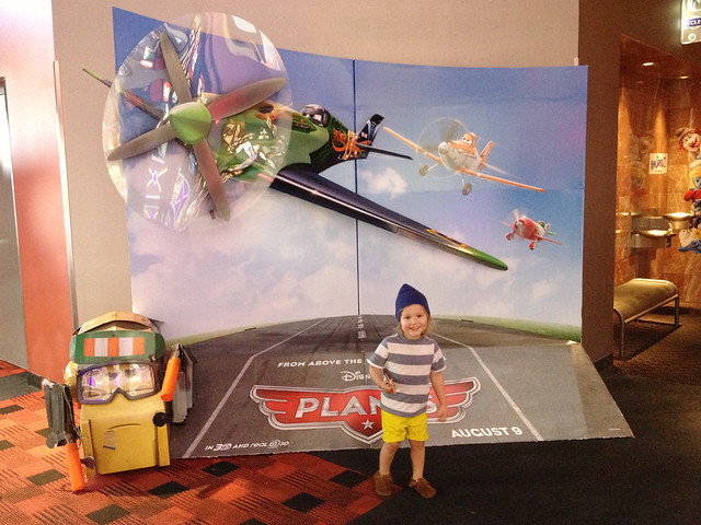 1st movie...Planes!