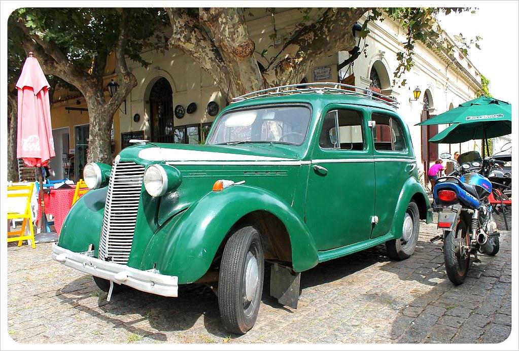 uruguay vintage car colonia
