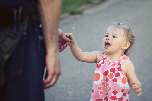 Flowers from Daddy by LikClick Photography