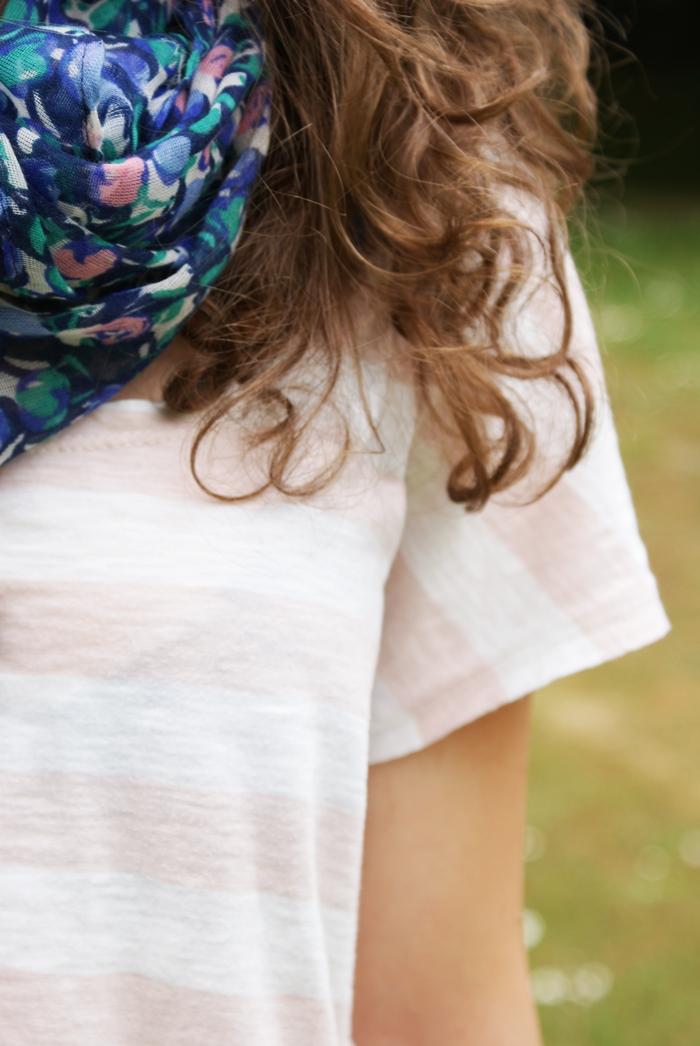 bluzka w paski