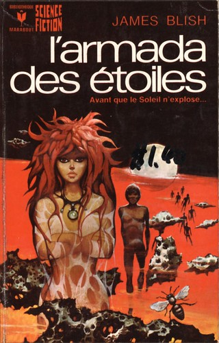 l'armada des etoiles by James Blish. bibliotheque marabout 1974