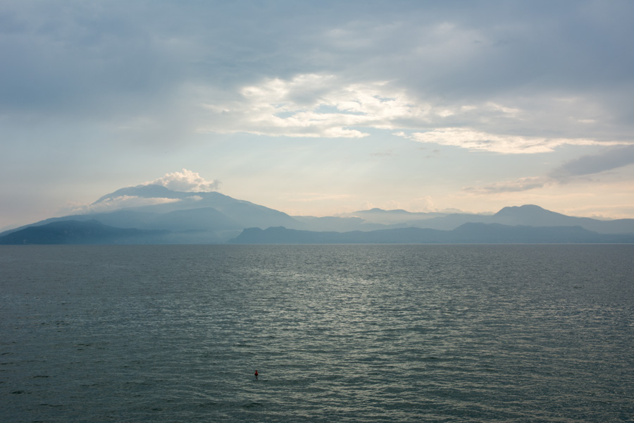 early morning across Lake Garda