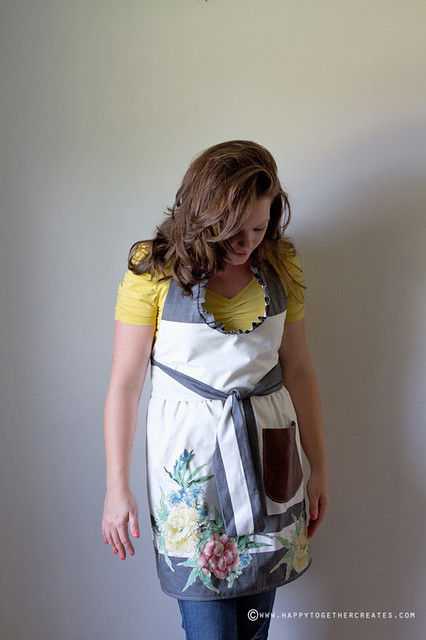 Ruffled Apron Pattern Remix