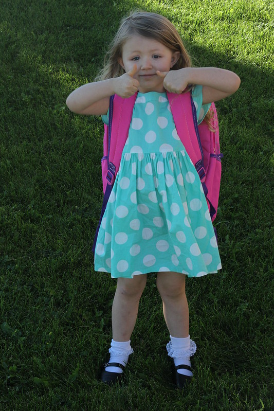 first day of prek Cordelia