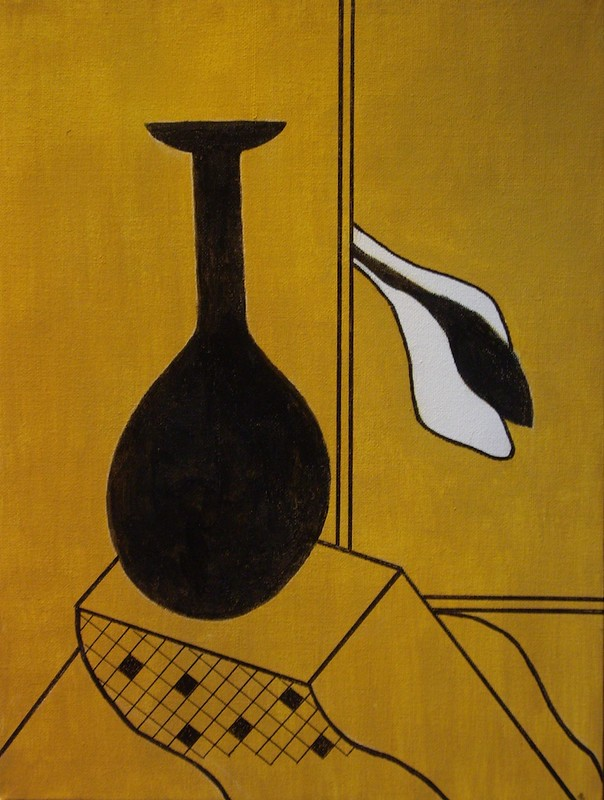 Still Life - after Patrick Caulfield