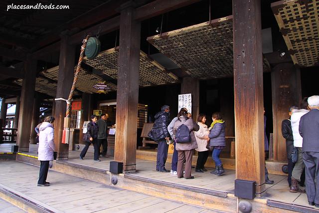 Kiyomizudera (清水寺)Temple hondo