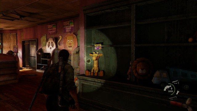 Giraffe plush in the Last of Us