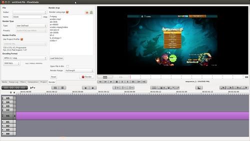 Flowblade 0.10 Ubuntu 13.04-en