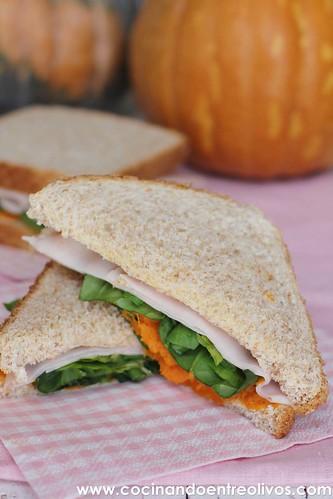 Sandwiches de pavo y calabaza www.cocinandoentreolivos (12)