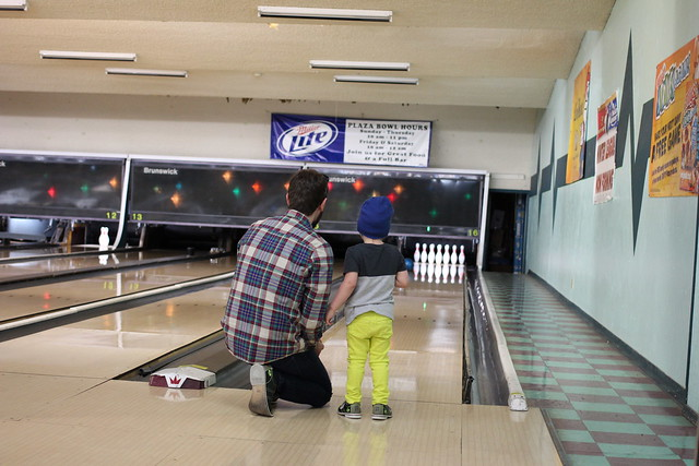 Henry's 1st Time Bowling
