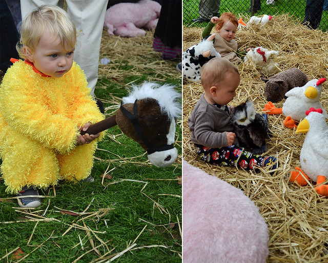 The Pretend Petting Zoo. Photos by Jean-Marc Grambert.