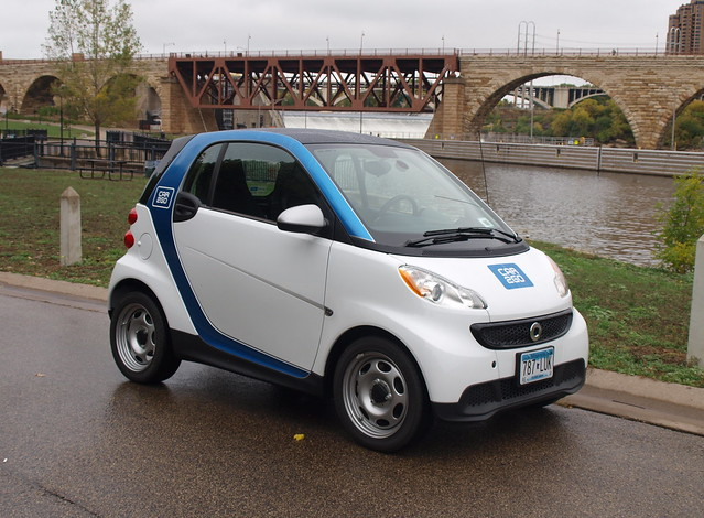 Car2Go in Minneapolis