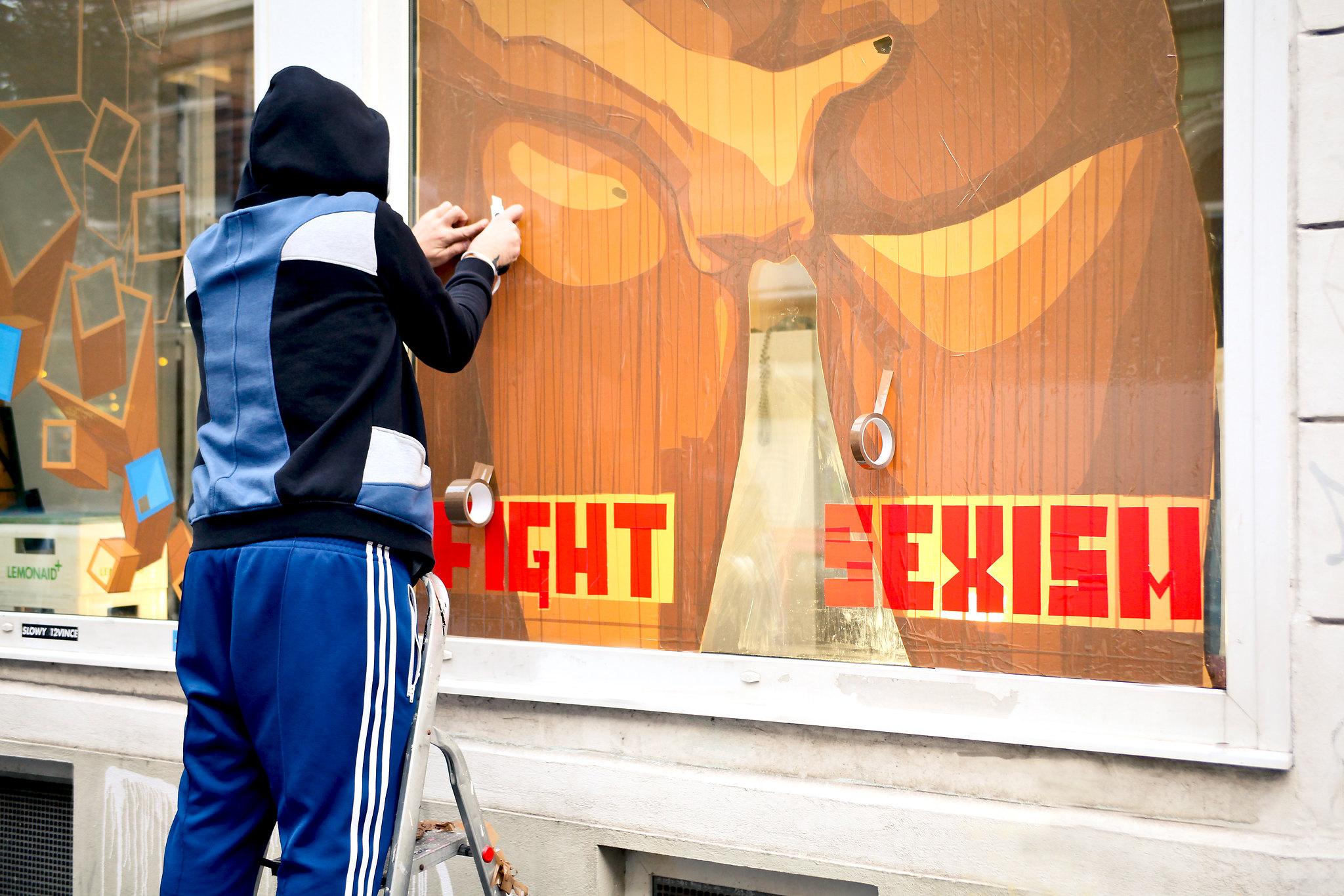 Reeperbahn Festival Affenfaust Tape Art