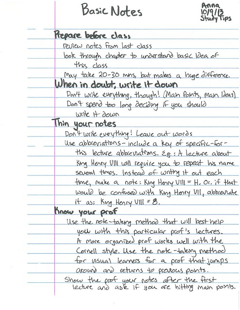 Basic Notes