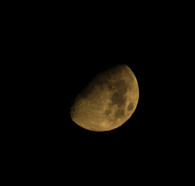 Setting Moon | Flickr - Photo Sharing!