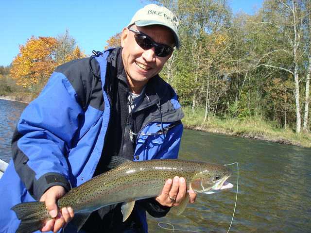 Great fall fishing continues on the willamette river the for Willamette river fishing report