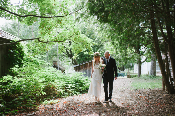 A beautiful late summer wedding (Black Creek Pioneer Village, Toronto)