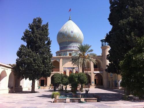 Mezquita en Shiraz (Irán)