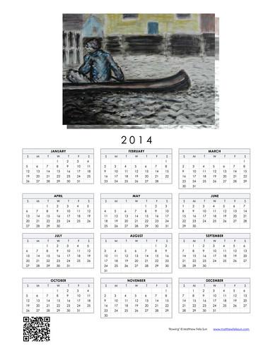 2014 Calendar - Rowing