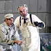 Simon Keenlyside as Wozzeck and John Tomlinson as the Doctor in Wozzeck © ROH / Catherine Ashmore 2013