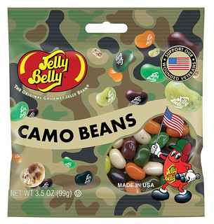 Jelly Belly Camo Beans Bag