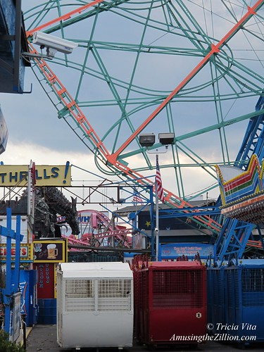 Cars Removed from Wonder Wheel