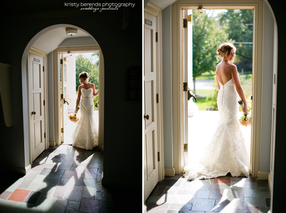 16 Bride in Doorway