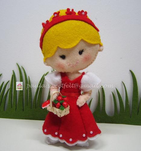 ♥♥♥ Para uma princesinha... by sweetfelt \ ideias em feltro