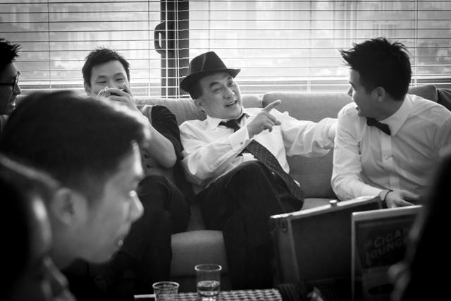 adrian gentlemen's afternoon tea party
