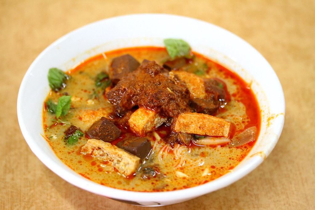 Penang Food Guide: Tua Pui Curry Mee @ Lebuh Kimerley