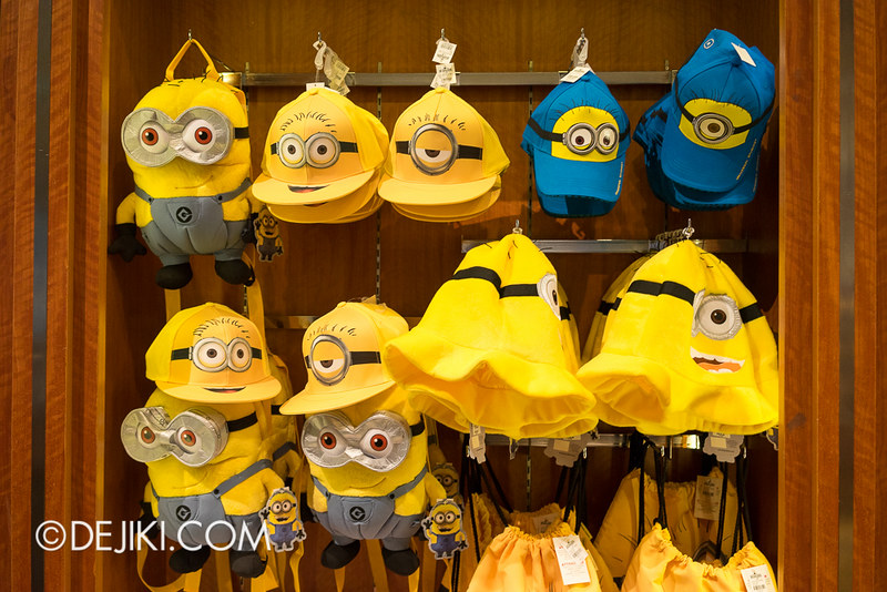 Despicable Me Minion Mayhem Singapore - merchandise at USS Store